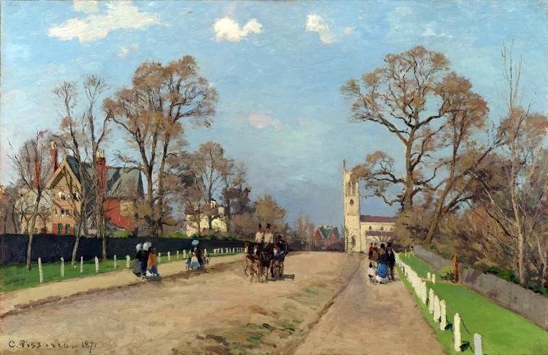 Camille Pissarro - The Avenue, Sydenham. Part 1 National Gallery UK