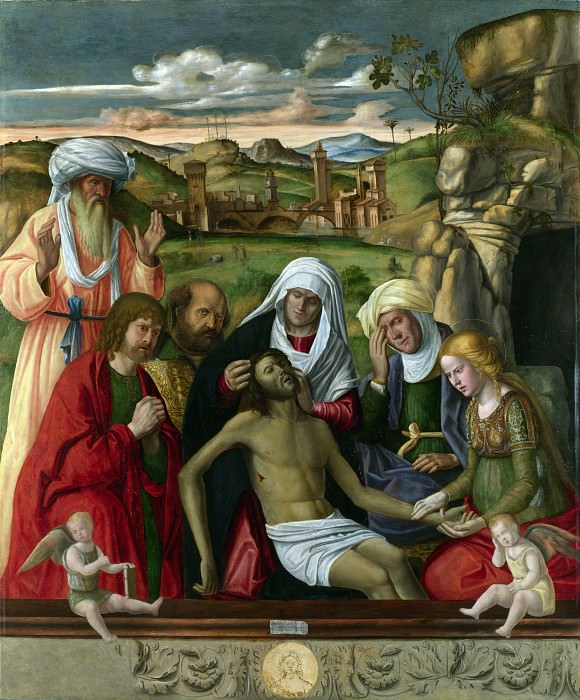 Andrea Busati - The Entombment. Part 1 National Gallery UK