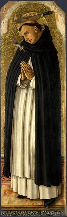 Carlo Crivelli - Saint Peter Martyr. Part 1 National Gallery UK