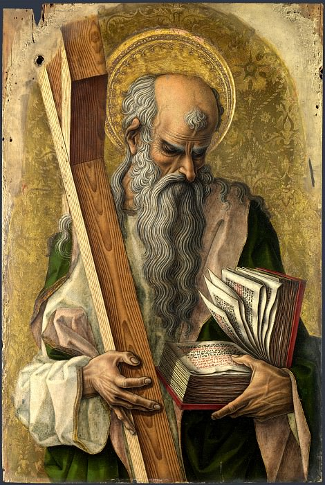 Carlo Crivelli - Saint Andrew. Part 1 National Gallery UK