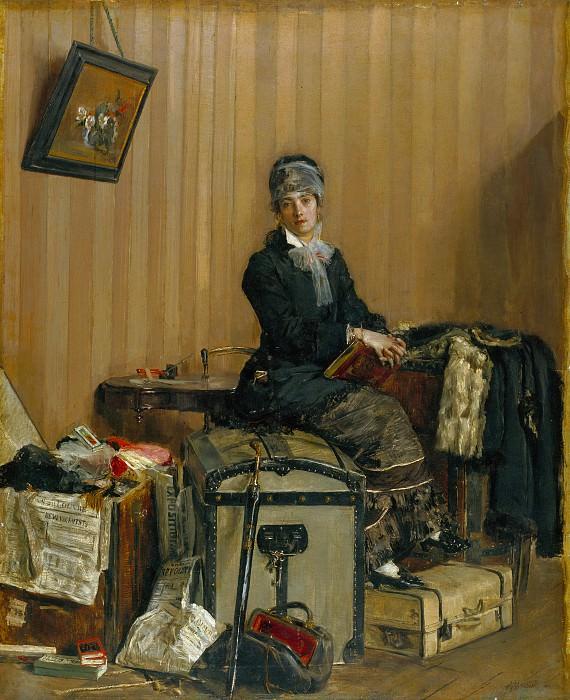 Antonio Mancini - The Customs. Part 1 National Gallery UK