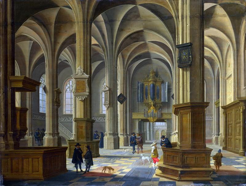 Бартоломеус ван Бассен - Интерьер церкви святой Кунеры в Ренене. Часть 1 Национальная галерея