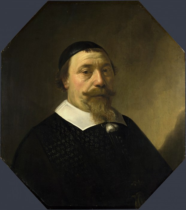 Aelbert Cuyp - Portrait of a Bearded Man. Part 1 National Gallery UK