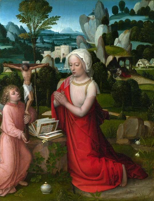 Adriaen Ysenbrandt - The Magdalen in a Landscape. Part 1 National Gallery UK