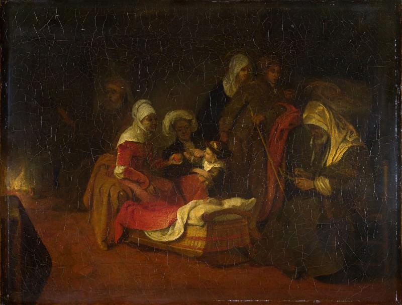 Barent Fabritius - The Naming of Saint John the Baptist. Part 1 National Gallery UK