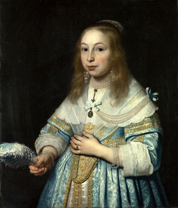 Bartholomeus van der Helst - Portrait of a Girl. Part 1 National Gallery UK