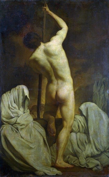 After Pierre Subleyras - The Barque of Charon. Part 1 National Gallery UK