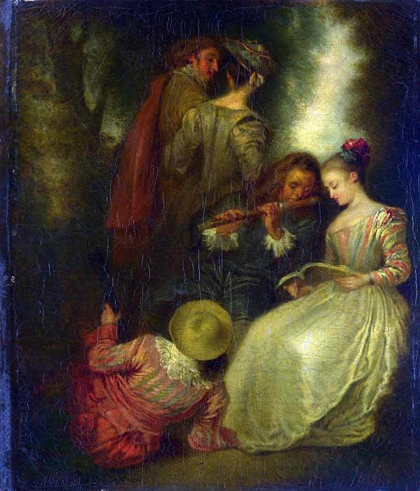 Жан-Антуан Ватто (последователь) - Совершенная гармония. Часть 1 Национальная галерея