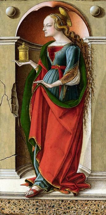Carlo Crivelli - Saint Mary Magdalene. Part 1 National Gallery UK