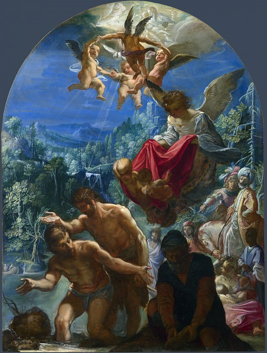 Adam Elsheimer - The Baptism of Christ. Part 1 National Gallery UK