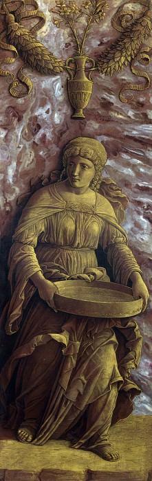 Андреа Мантенья - Весталка Туция с ситом. Часть 1 Национальная галерея