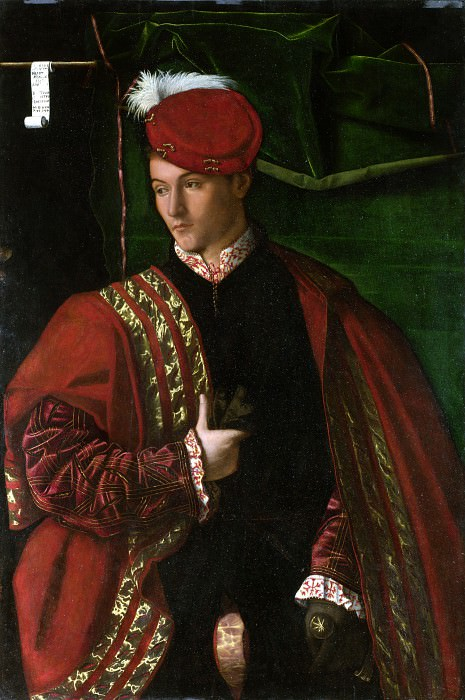 Bartolomeo Veneto - Lodovico Martinengo. Part 1 National Gallery UK