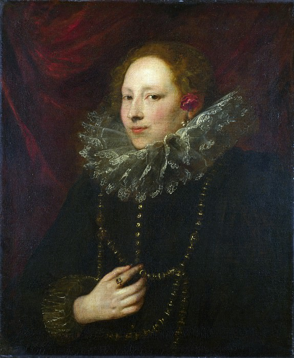 Anthony van Dyck - Portrait of a Woman. Part 1 National Gallery UK