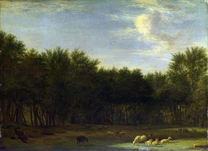 Adriaen van de Velde - The Edge of a Wood. Part 1 National Gallery UK
