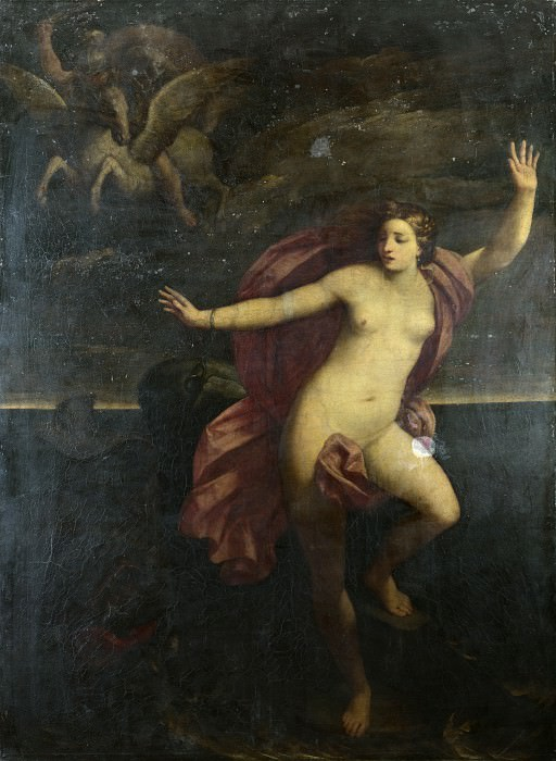 Гвидо Рени (последователь) - Персей и Андромеда. Часть 1 Национальная галерея