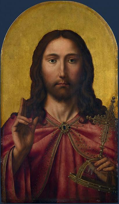 Квентин Массейс (последователь) - Христос. Часть 1 Национальная галерея