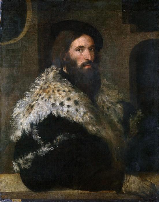 Мужской портрет (Джироламо Фракасторо). Тициан (Тициано Вечеллио)