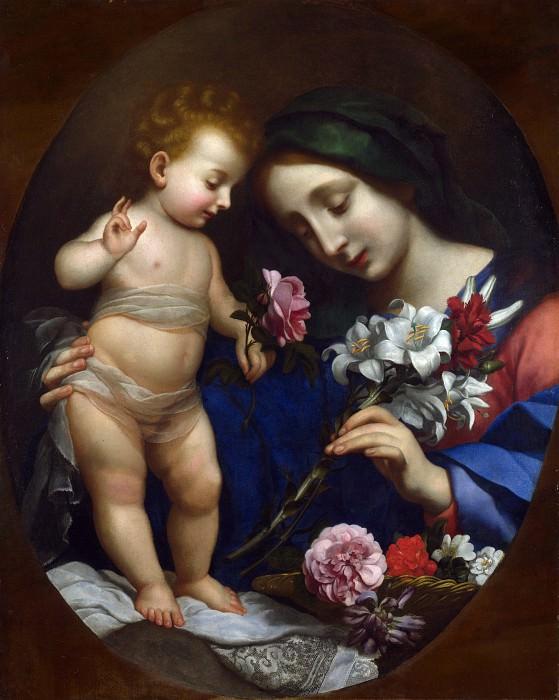 Карло Дольчи (последователь) - Мадонна с Младенцем с цветами. Часть 1 Национальная галерея