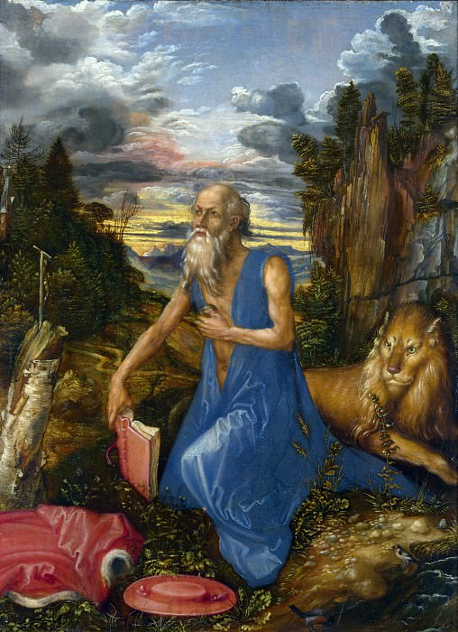 Albrecht Durer - Saint Jerome. Part 1 National Gallery UK