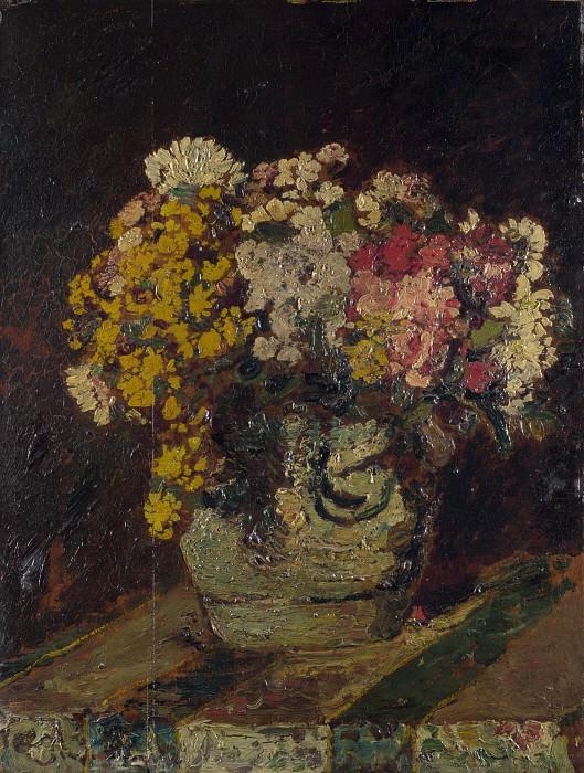 Адольф Монтичелли - Ваза с живыми цветами. Часть 1 Национальная галерея