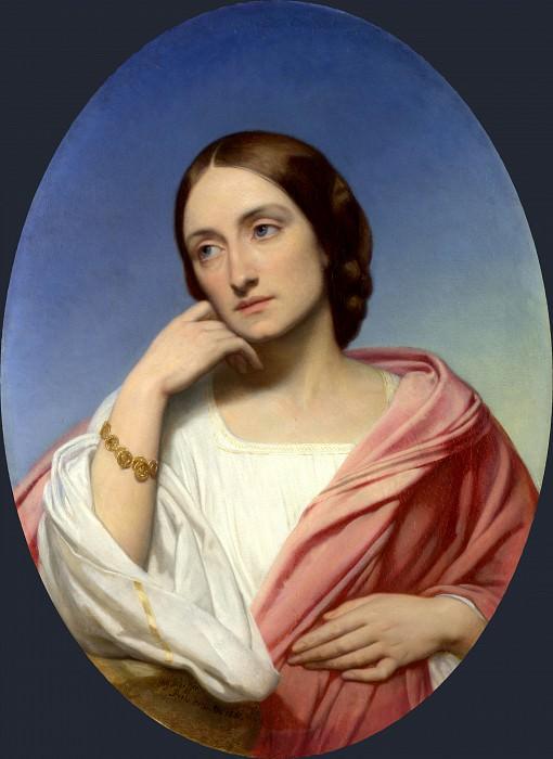 Ary Scheffer - Mrs Robert Hollond. Part 1 National Gallery UK