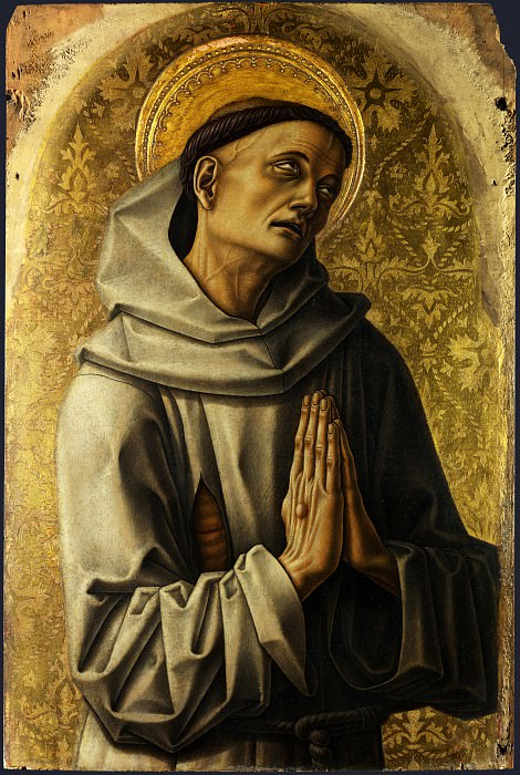 Carlo Crivelli - Saint Francis. Part 1 National Gallery UK