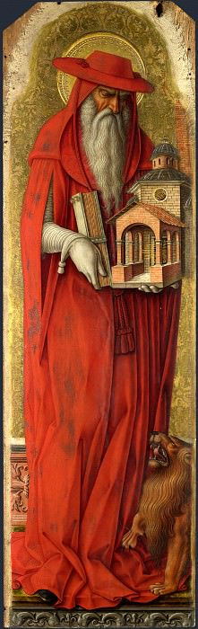 Carlo Crivelli - Saint Jerome. Part 1 National Gallery UK