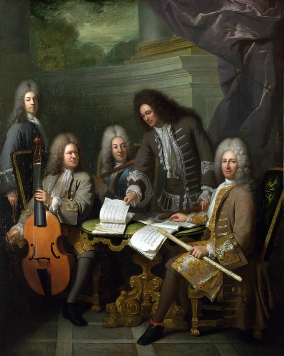 Andre Bouys - La Barre and Other Musicians. Part 1 National Gallery UK