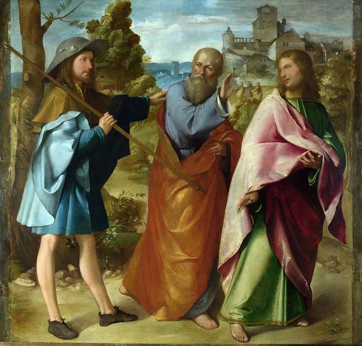 Альтобелло Мелоне - Путь в Эммаус. Часть 1 Национальная галерея