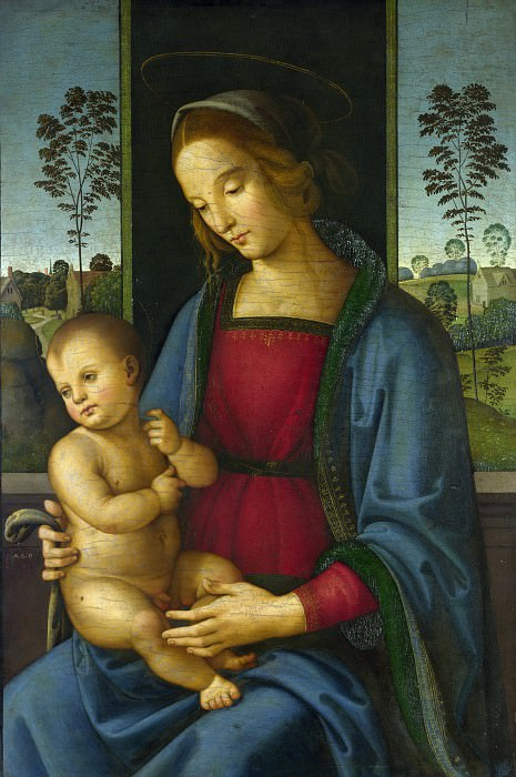 Andrea di Aloigi - The Virgin and Child. Part 1 National Gallery UK