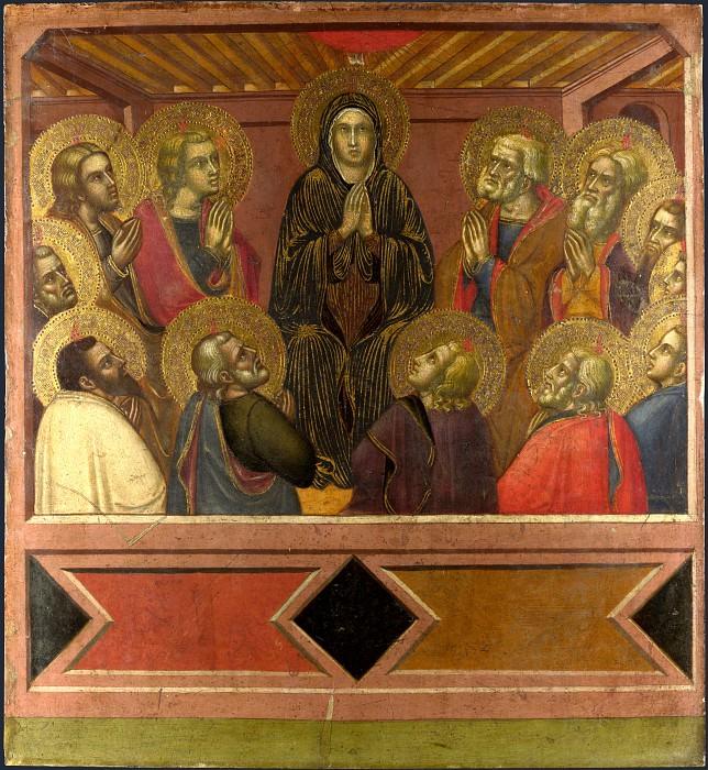 Barnaba da Modena - Pentecost. Part 1 National Gallery UK