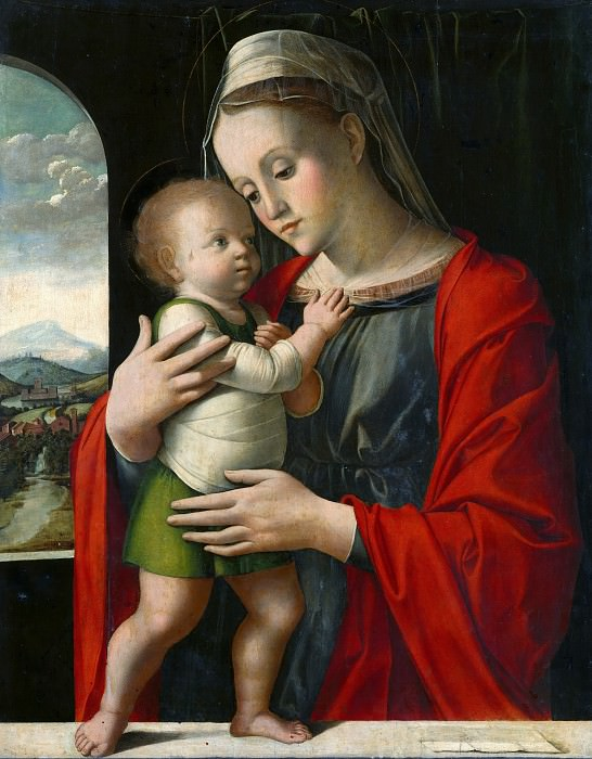 Alvise Vivarini - Virgin and Child. Part 1 National Gallery UK