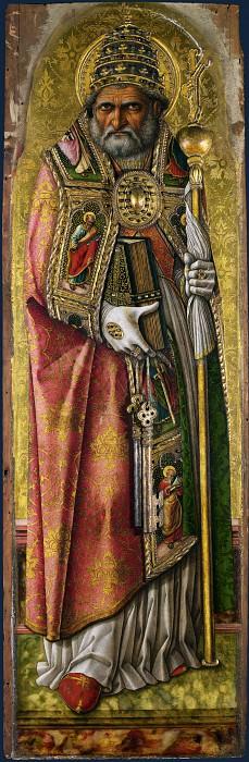 Carlo Crivelli - Saint Peter. Part 1 National Gallery UK