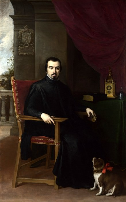 Bartolome Esteban Murillo - Portrait of Don Justino de Neve. Part 1 National Gallery UK