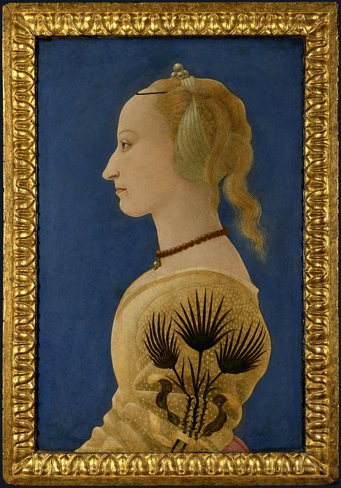 Alesso Baldovinetti - Portrait of a Lady. Part 1 National Gallery UK