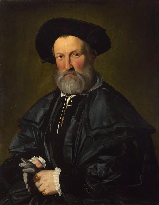 Каллисто Пьяцца - Мужской портрет. Часть 1 Национальная галерея