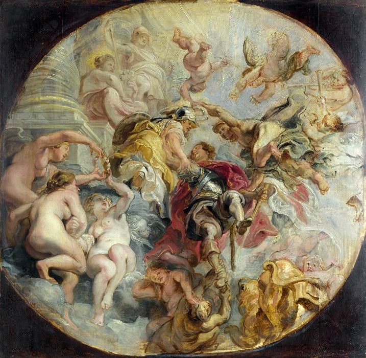 The Apotheosis of the Duke of Buckingham. Peter Paul Rubens