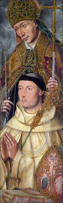 Netherlandish - Saint Ambrose with Ambrosius van Engelen. Part 5 National Gallery UK