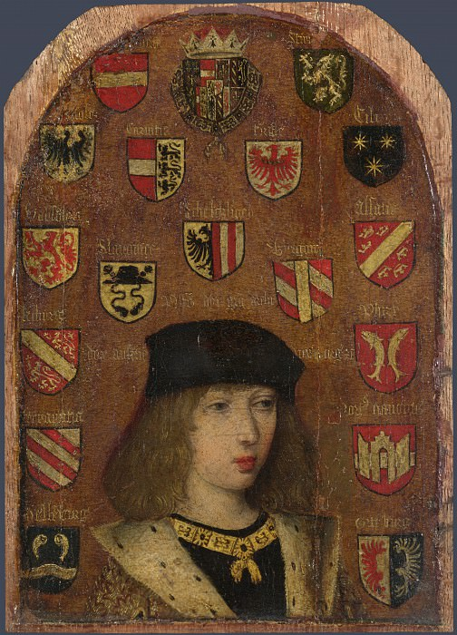 Pieter van Coninxloo - Philip the Handsome. Part 5 National Gallery UK