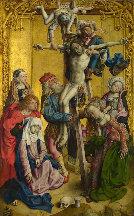 Мастер Мадонны Палаццо Венеция - Снятие с креста. Часть 5 Национальная галерея