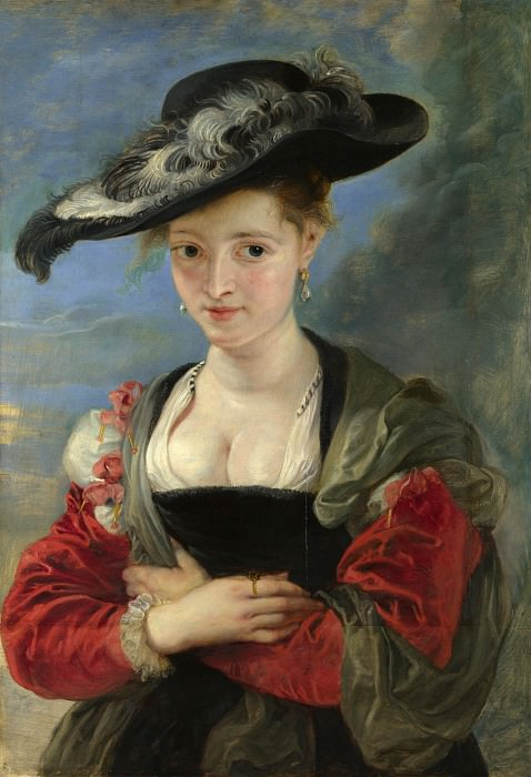 The Straw Hat. Peter Paul Rubens