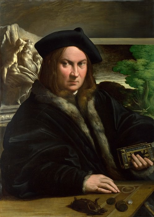 Parmigianino - Portrait of a Collector. Part 5 National Gallery UK