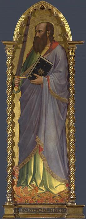 Niccolo di Pietro Gerini - Saint Paul - Right Main Tier Panel. Part 5 National Gallery UK