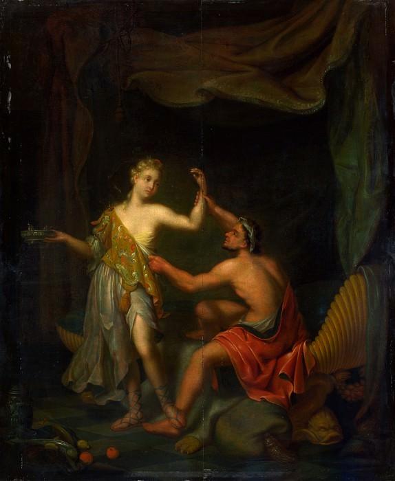Philip van Santvoort - The Rape of Tamar by Amnon. Part 5 National Gallery UK
