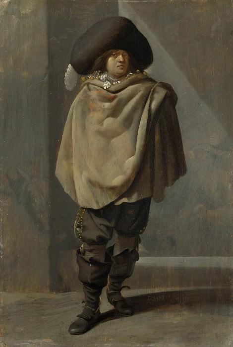 Pieter Quast - A Standing Man. Part 5 National Gallery UK