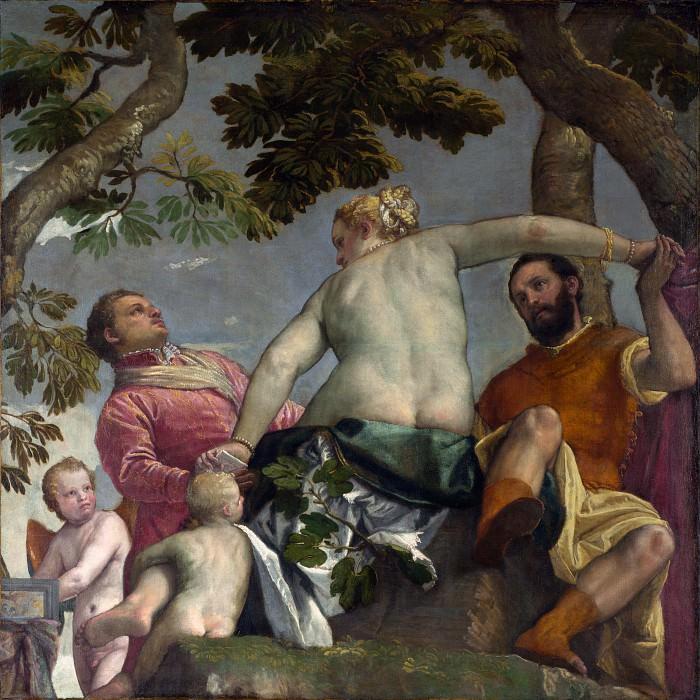 Paolo Veronese - Unfaithfulness. Part 5 National Gallery UK