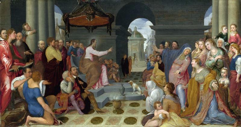 Педро Кампана (копия работы Федерико Дзуккаро) - Обращение Марии Магдалины. Часть 5 Национальная галерея