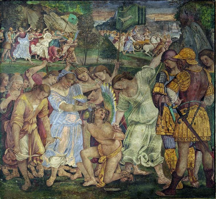 The Triumph of Chastity. Luca Signorelli