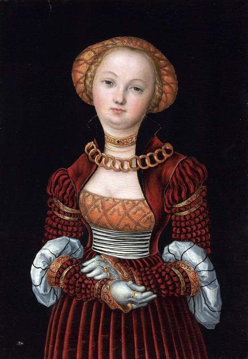 Lucas Cranach the Elder - Portrait of a Woman. Part 5 National Gallery UK
