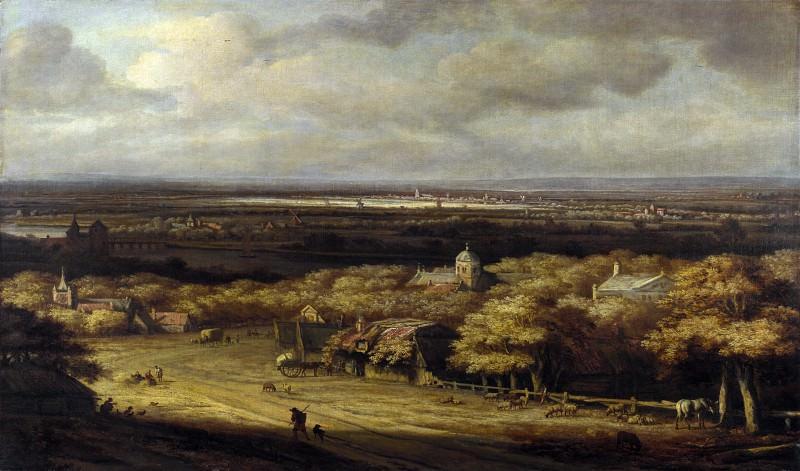 Филипс Конинк - Панорамный пейзаж. Часть 5 Национальная галерея